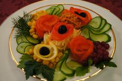 Овощной букет 190 руб