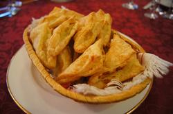 Пирожок слоеный с картофелем