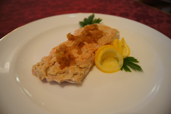 Рыба паровая с лимоном (горбуша)