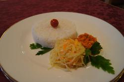 Рис с подгарнировкой