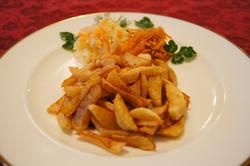 """Картофель """"фри"""" с подгарнировкой"""