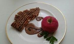 Свинина маринованная с пряным яблоком